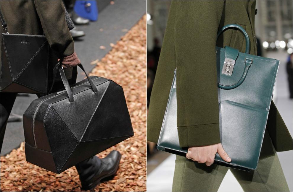Resultado de imagen para bolsas de mano para hombre
