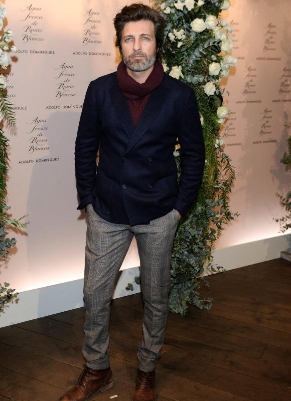El 'look' del actor Jesús Olmedo