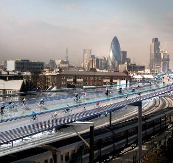Norman Foster diseña el 'skyline' más futurista de Londres