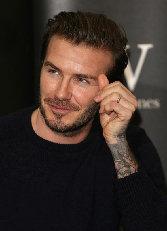 Despide el año con el 'look' de David Beckham