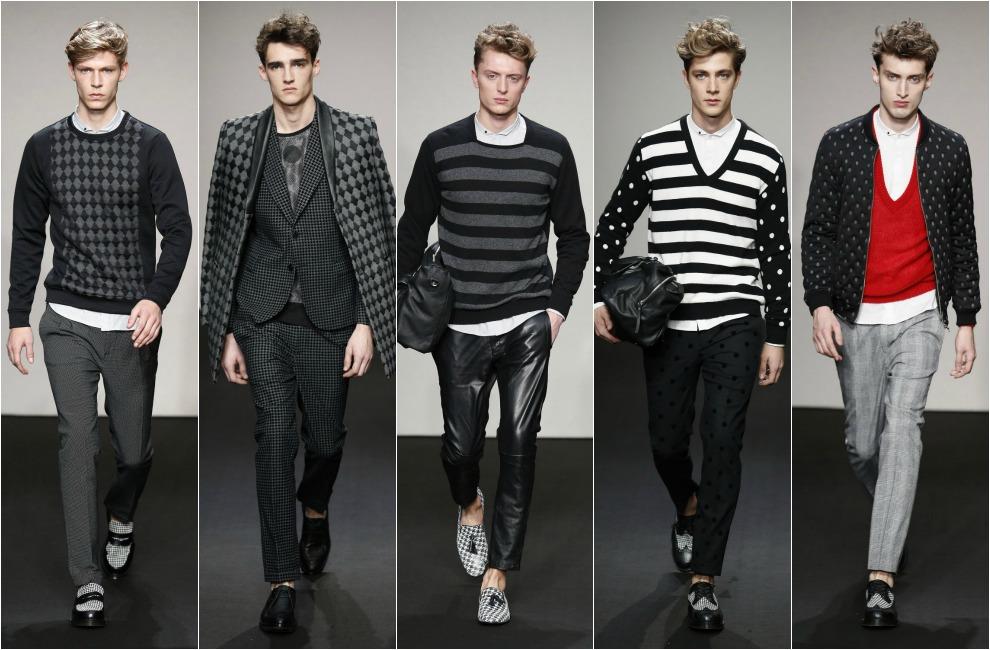 El despliegue de pieles de fendi y los metalizados de for Lo ultimo en moda para hombres