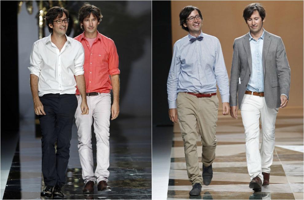 Cuando los genios de la moda se visten igual