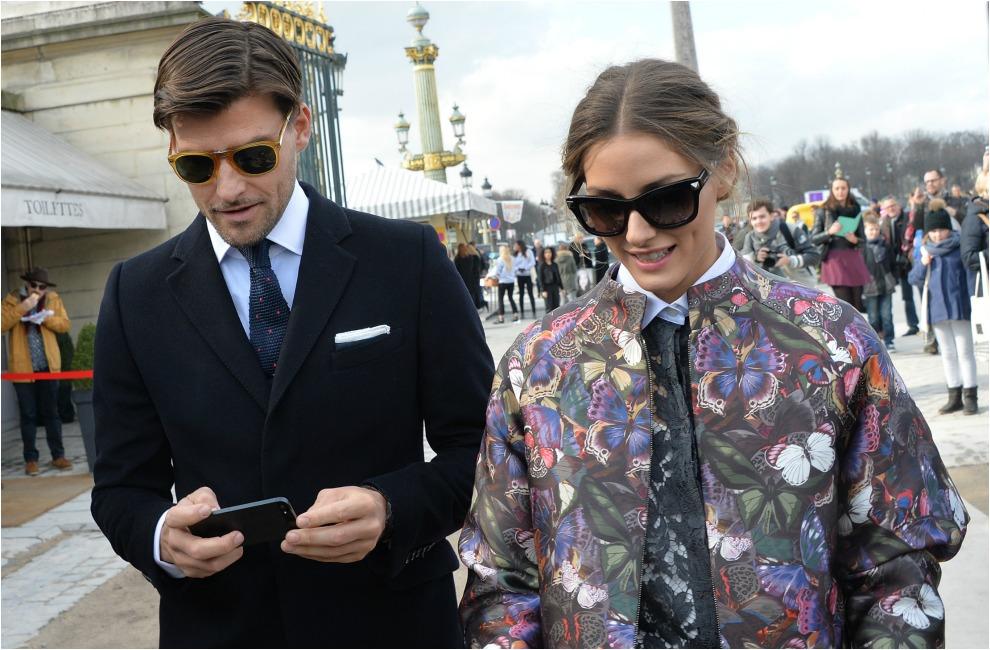 El perfecto 'look' de pareja de Johannes Huebl y Olivia Palermo