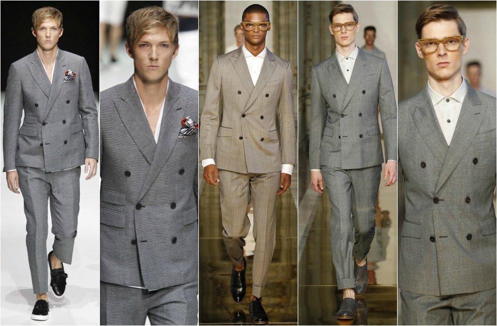 Los seis trajes del hombre
