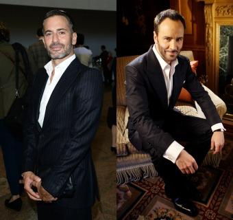 El cara a cara 'beauty' de Marc Jacobs y Tom Ford