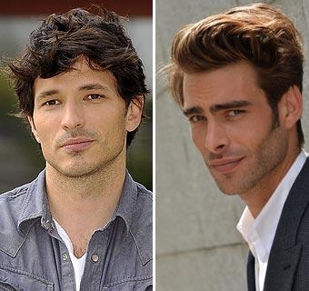 Andrés Velencoso y Jon Kortajarena, duelo de titanes sobre la pasarela y ahora en la pantalla, ¿quién ganará?