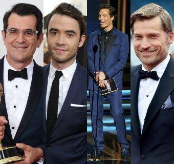 El azul, ganador absoluto de los premios Emmy... y de los mejor vestidos