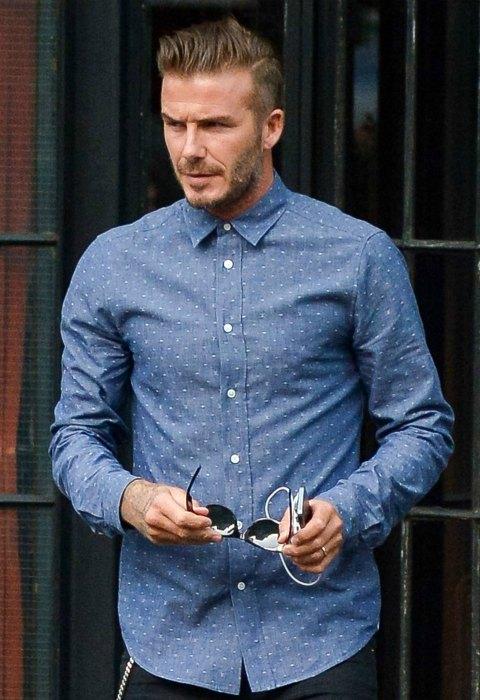 David Beckham y Kanye West, dos de los hombres más influyentes de la moda
