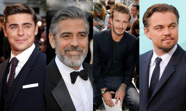 grooming' para hombres: con la raya a un lado
