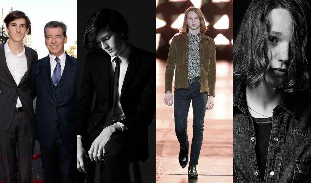 Relevo generacional en Saint Laurent: La firma 'ficha' a los hijos de Val Kilmer y Pierce Brosnan como modelos