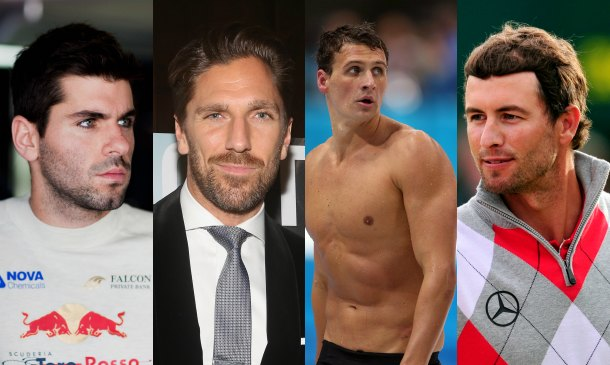 Los atletas más 'sexys'... fuera del campo de fútbol