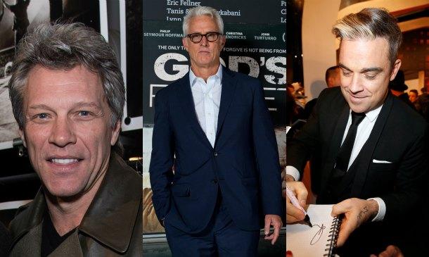 Jon Bon Jovi y otros 'silver foxes' de Hollywood