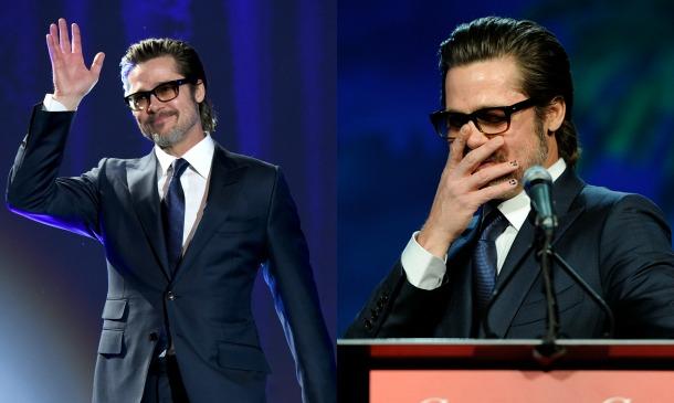 Brad Pitt se suma a la moda del 'nail-art'