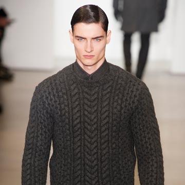 Desde Milán, así fue el desfile de la colección masculina de Calvin Klein Collection para el otoño-invierno de 2015-2016