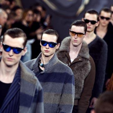 Desde París, así fue el desfile de la nueva colección masculina de Louis Vuitton otoño-invierno 2015-2016
