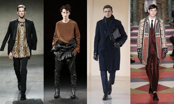 Las tendencias y el color de París brillan en su primera jornada de moda masculina