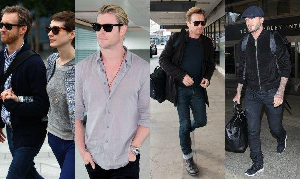 Moda de altos vuelos: El 'look' de viaje de las 'celebs'