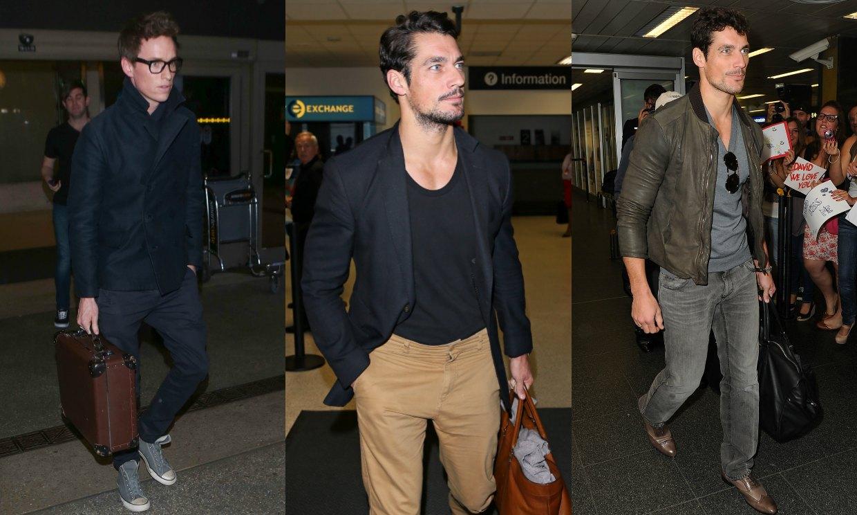 Viajar En Avión Los Hombres Que Viajan En Primera Y: Moda De Altos Vuelos: El 'look' De Viaje De Las 'celebs
