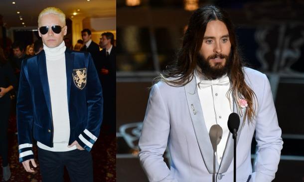 Jared Leto y otros cambios radicales de 'look'