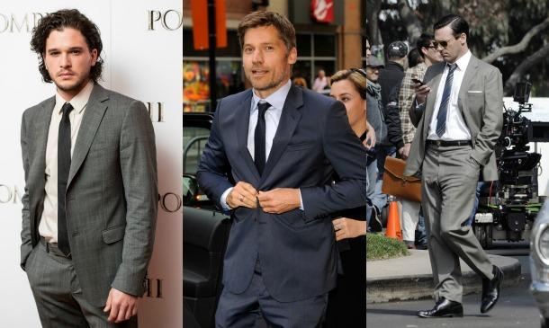 ¿Quién lo lleva mejor? ¿Los chicos de 'Juego de tronos' o los de 'Mad Men'?