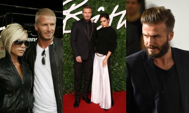 Los 40 años (y 'looks') de David Beckham