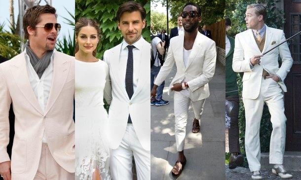 Todo al blanco las claves para llevar este color en cada for Boda en jardin como vestir hombre