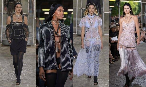 Naomi, Irina, Candice, Kendall... Las 'tops' que brillaron en la 'fashion week' masculina de París