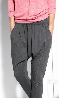 A entrenar con estilo: pantalones tipo 'harem'