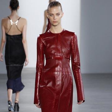 Así es la nueva colección de Calvin Klein Collection en la New York Fashion Week