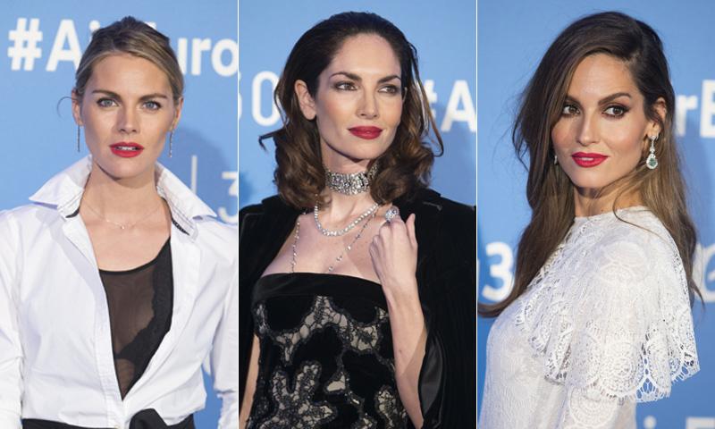 Ariadne Artiles, Eugenia Silva, Amaia Salamanca... Desfile de bellezas de fiesta por Madrid