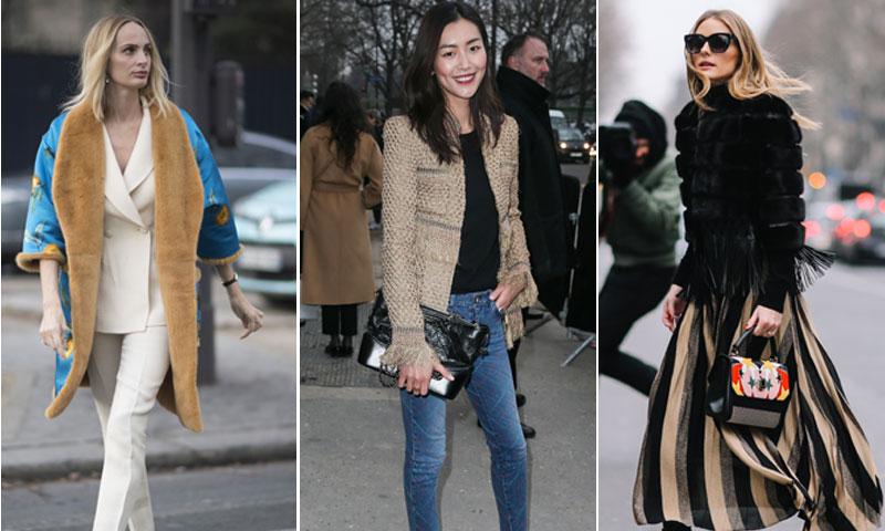 ¿Quiénes han sido las más estilosas del 'front row' de la Alta Costura?