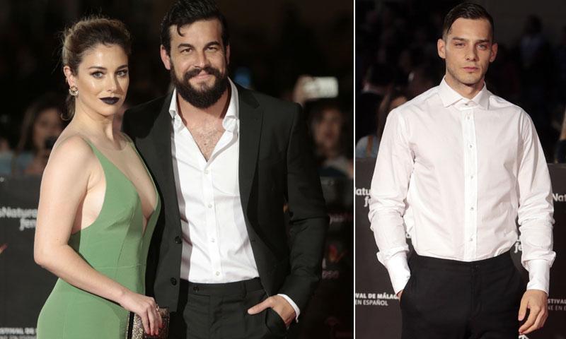Blanca Suárez y Joel Bosqued, 'contigo pero sin ti' en la inauguración del Festival de Málaga