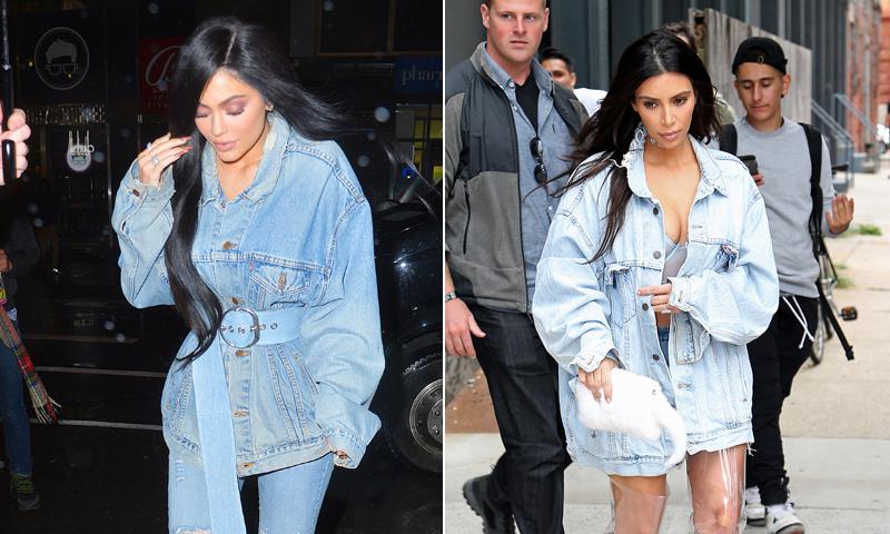 ¡Clones! Ocho veces en las que Kylie Jenner copió a Kim Kardashian