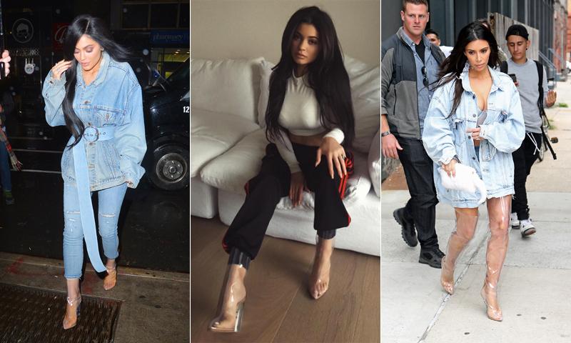 'Clear boots': Así es la nueva tendencia a la que se ha apuntado Kylie Jenner