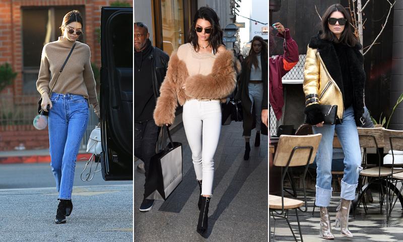 c44935086f ¿Fan de los jeans  Descubre el que mejor te sienta y luce una figura como  la de Kendall Jenner