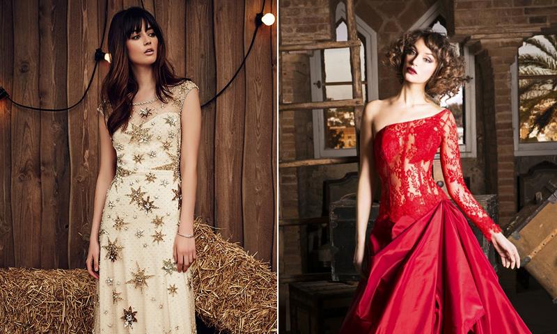 Vestidos de novia para un `look' nupcial diferente