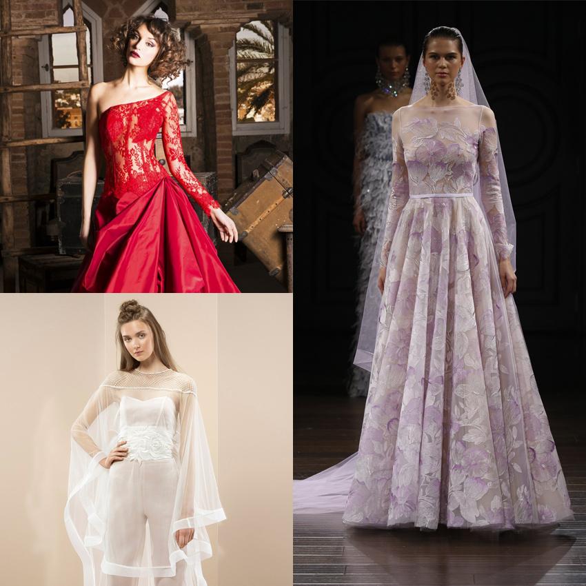 Vestidos de novias diferentes y originales