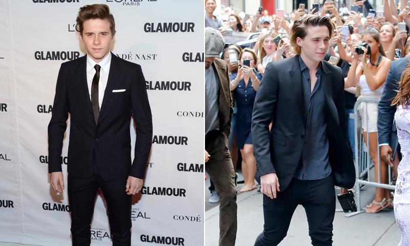Trucos para lucir un traje con el estilo de Brooklyn Beckham