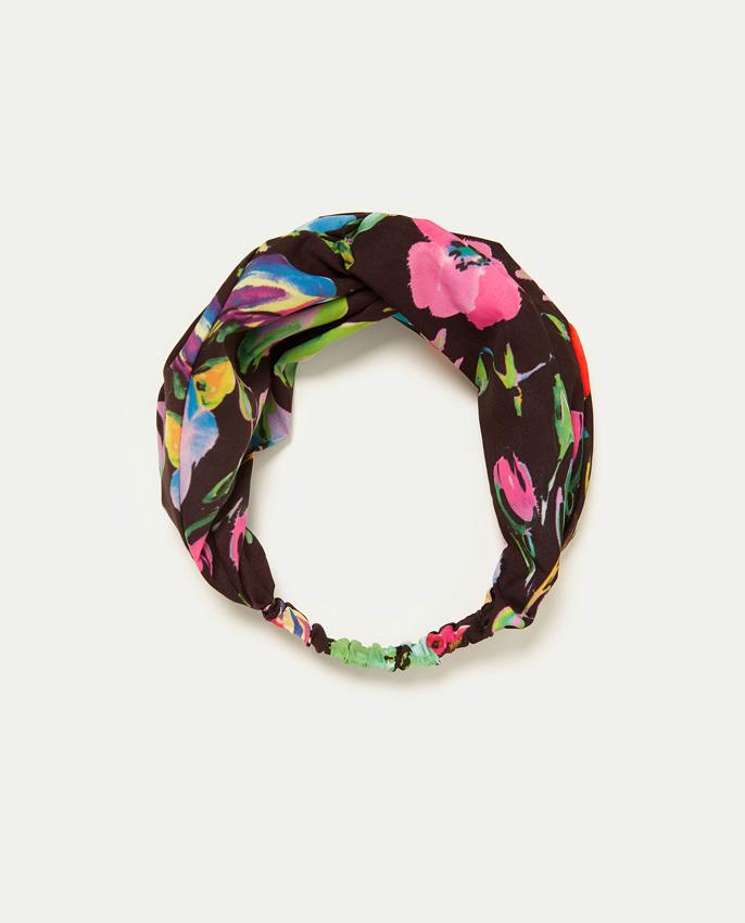 La diadema turbante de Zara, el complemento cool de esta primavera ...