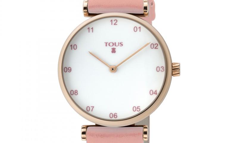 Apúntate al 'pink style' con los relojes y pulseras Tous