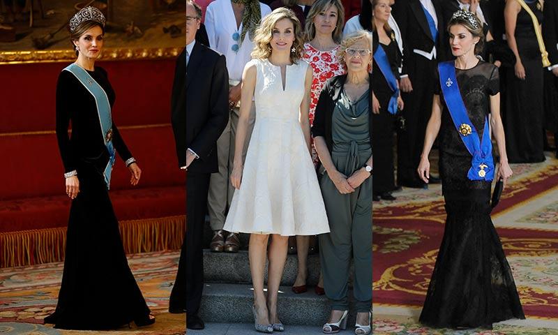 Carolina Herrera Vs. Felipe Varela: Duelo de firmas en el armario de la Reina