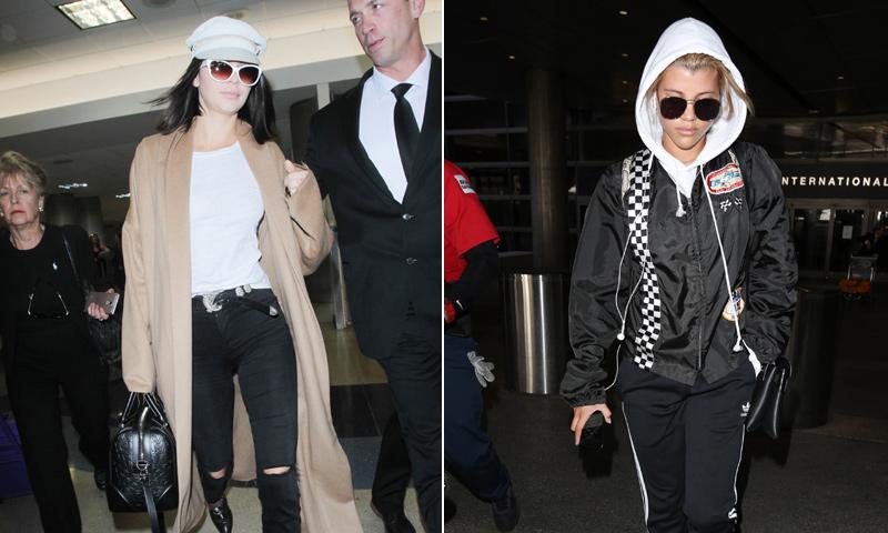 ¡'Looks' de altos vuelos! Lista de imprescindibles para viajar según Kendall Jenner y otras 'celebs'