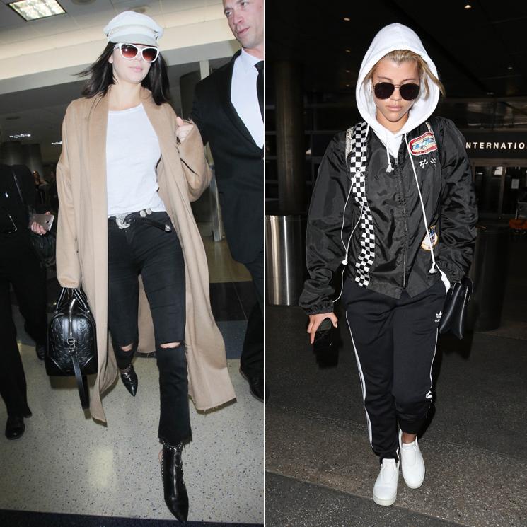 0cda86dc0d Cómo vestir para viajar según Kendall Jenner y estas famosas - Foto