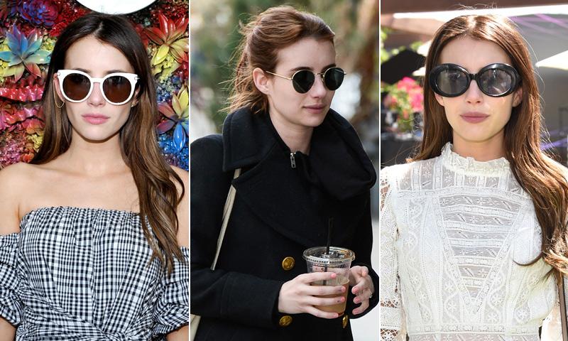 Emma Roberts es una enamorada de las gafas de sol, ¿y tú?
