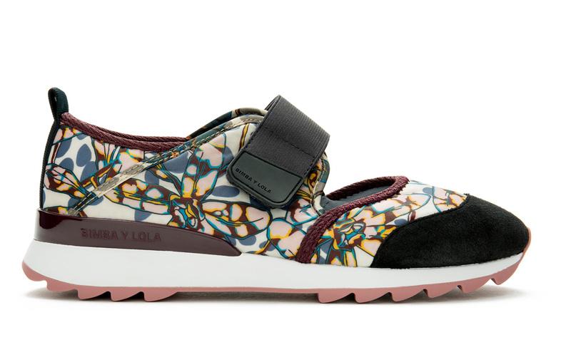 Zapatillas 'sneaker' de Bimba y Lola, el toque 'sporty' que no pasa de moda