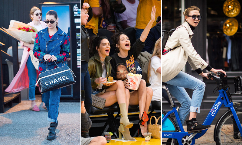 La vida tras las pasarelas: así viven y se divierten las 'top models' del momento