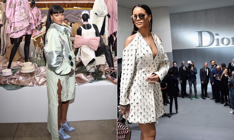 Rihanna y su exitosa colección con Puma: 'Celebs' atraídas por el diseño de moda