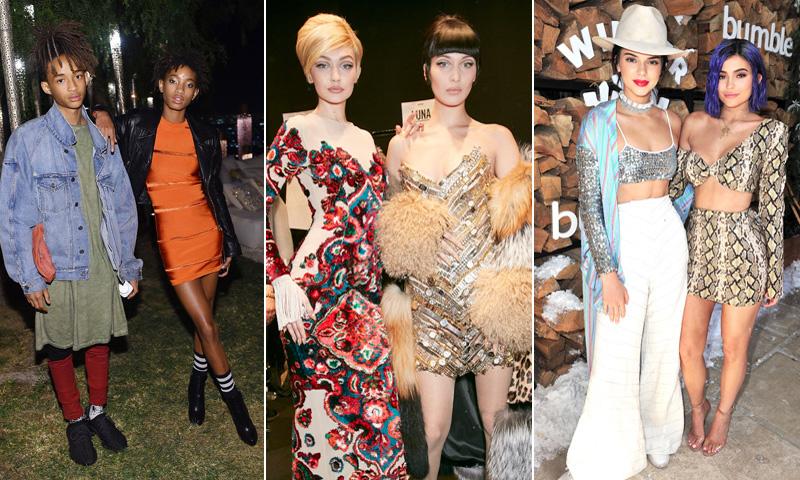 'Celebrities', hermanos y modelos: Jaden, Willow Smith y otras familias que triunfan en la moda