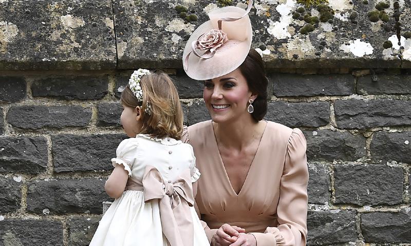 La elegancia de la Duquesa de Cambridge en la boda de su hermana