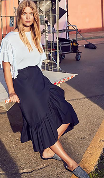 d6a16a8a6 Alegría y distinción en la nueva colección de faldas de Mango - Foto